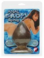 Большая анальная пробка каплевидной формы Anal Drops - 13 см. - фото 15676