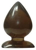Большая анальная пробка каплевидной формы Anal Drops - 13 см. - фото 15675