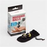 Стеклянные вагинальные массажные шарики - фото 459375