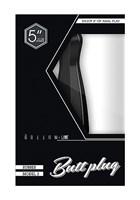 Черный анальный стимулятор на присоске Bottom Line Model 3 - 13 см. - фото 143419