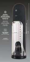 Автоматическая вакуумная помпа для пениса Rebel Automatic Pump - фото 1658200