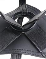 Страпон на виниловых трусиках Strap-on Harness Cock - 17,8 см. - фото 219044