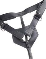 Телесный страпон на трусиках Strap-on Harness Cock - 20,3 см. - фото 1155273