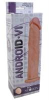 Фаллоимитатор без мошонки на присоске ANDROID Collection-VI - 23,2 см. - фото 1524606