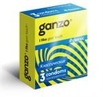 Классические презервативы с обильной смазкой Ganzo Classic - 3 шт. - фото 219939