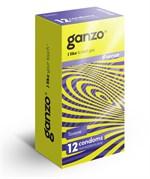 Тонкие презервативы для большей чувствительности Ganzo Sence - 12 шт. - фото 1141519