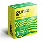 Ультратонкие презервативы Ganzo Ultra thin - 3 шт. - фото 1156118