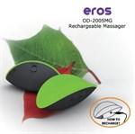 Зелёный вибромассажер Eros для стимуляции эрогенных зон - фото 145267