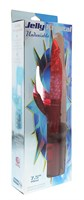 Красный вибратор с клиторальным отростком JK UNDENIABLE 7.5 PEARL DIVER - 19 см. - фото 1659762