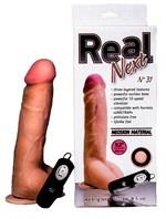 Большой вибратор-реалистик с выносным блоком REAL Next №31 - 23,5 см. - фото 146226