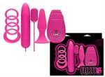 Розовый вибронабор FLIRTY - фото 146653