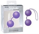Фиолетовые вагинальные шарики Joyballs Trend - фото 1158043