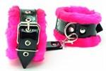 Оковы на ноги с розовым мехом BDSM Light - фото 1158338