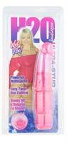 Розовый вибратор H2O ULTRA STUD WATERPROOF VIBRATOR - 17 см. - фото 147240