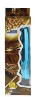 Голубой гладкий вибромассажёр KRYPTON STIX 5 MASSAGER M/S BLUE - 12,7 см. - фото 1158504