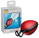 Красный вагинальный шарик со смещенным центром тяжести Joyballs Secret - фото 1158761