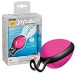 Розовый вагинальный шарик со смещенным центром тяжести Joyballs Secret - фото 311500