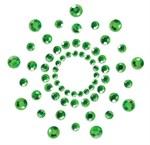 Зеленые наклейки на грудь Mimi Bijoux - фото 193450