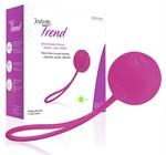 Ярко-розовый вагинальный шарик Joyballs Trend Single - фото 1159119