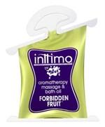 Масло для массажа Inttimo Forbiden Fruit с ароматом диких ягод - 10 мл. - фото 230742