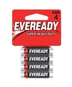 Батарейки EVEREADY R03 типа AAA  - 4 шт. - фото 312322