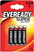 Батарейки EVEREADY SUPER R03 типа AAA - 4 шт. - фото 312324