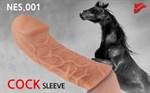 Насадка фаллического вида с венками Extreme Sleeve 005 M-size - 14,7 см. - фото 1159549