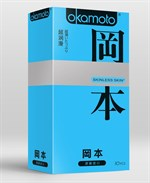 Презервативы в обильной смазке OKAMOTO Skinless Skin Super lubricative - 10 шт - фото 224033