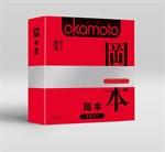 Ультратонкие презервативы OKAMOTO Skinless Skin Super thin - 3 шт. - фото 1160270
