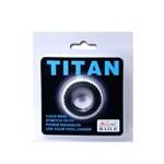 Эреционное кольцо с ребрышками Titan - фото 1160450