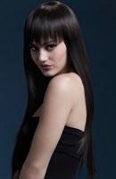 Каштановый парик с длинными прямыми волосами Jessica - фото 259695