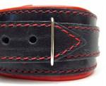 Ошейник с красным подкладом  - фото 21449