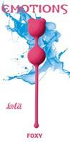 Розовые вагинальные шарики Emotions Foxy - фото 1663995