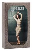 Портупея 3-в-1 Elle Black с оборками - фото 1161607