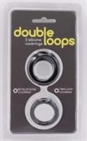 Набор из 2 эрекционных колец Double Loops - фото 1162821