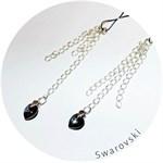 Украшение для груди с кристаллами Swarovski - фото 197596