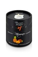 Массажная свеча с ароматом манго и ананаса Bougie de Massage Ananas Mangue - 80 мл. - фото 1163271