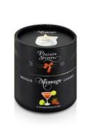 Массажная свеча с ароматом коктейля Космополитан Bougie de Massage Cosmopolitan - 80 мл. - фото 22990