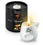 Массажная свеча с ароматом коктейля Космополитан Bougie de Massage Cosmopolitan - 80 мл. - фото 22989