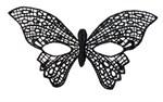 Нитяная маска в форме бабочки - фото 652571