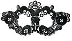Нитяная маска с цветами - фото 1148869