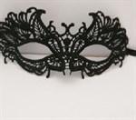 Кружевная маска с листиками - фото 1164474