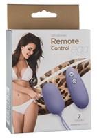 Сиреневое виброяйцо Remote Control Vibrating Egg с пультом ДУ - фото 153264