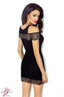 Короткое платье Marissa с цветочной вышивкой - фото 1165196