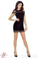 Короткое платье Marissa с цветочной вышивкой - фото 1165197