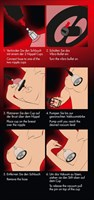 Вакуумная помпа для сосков с вибрацией Bad Kitty Vibrating Nipple Cups - фото 24706