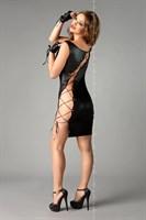 Сексуальное платье Abigel со шнуровкой - фото 124348