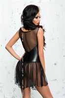 Эротическое платье Xymena с колечками на поясе - фото 470625