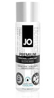 Охлаждающий лубрикант на силиконовой основе JO Personal Premium Lubricant Cooling - 60 мл. - фото 1166824