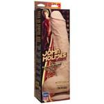 Телесный фаллоимитатор John Holmes ULTRASKYN Realistic Cock with Removable Vac-U-Lock Suction Cup - 25,1 см. - фото 1166879